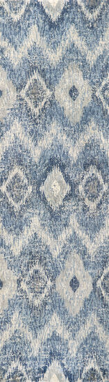 Transitional Power-Loomed 10 x 13 Rectangle Rug in Light Gray