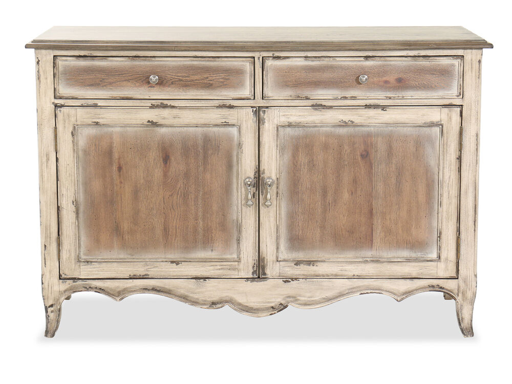 Two-Door Traditional Accent Storage Console