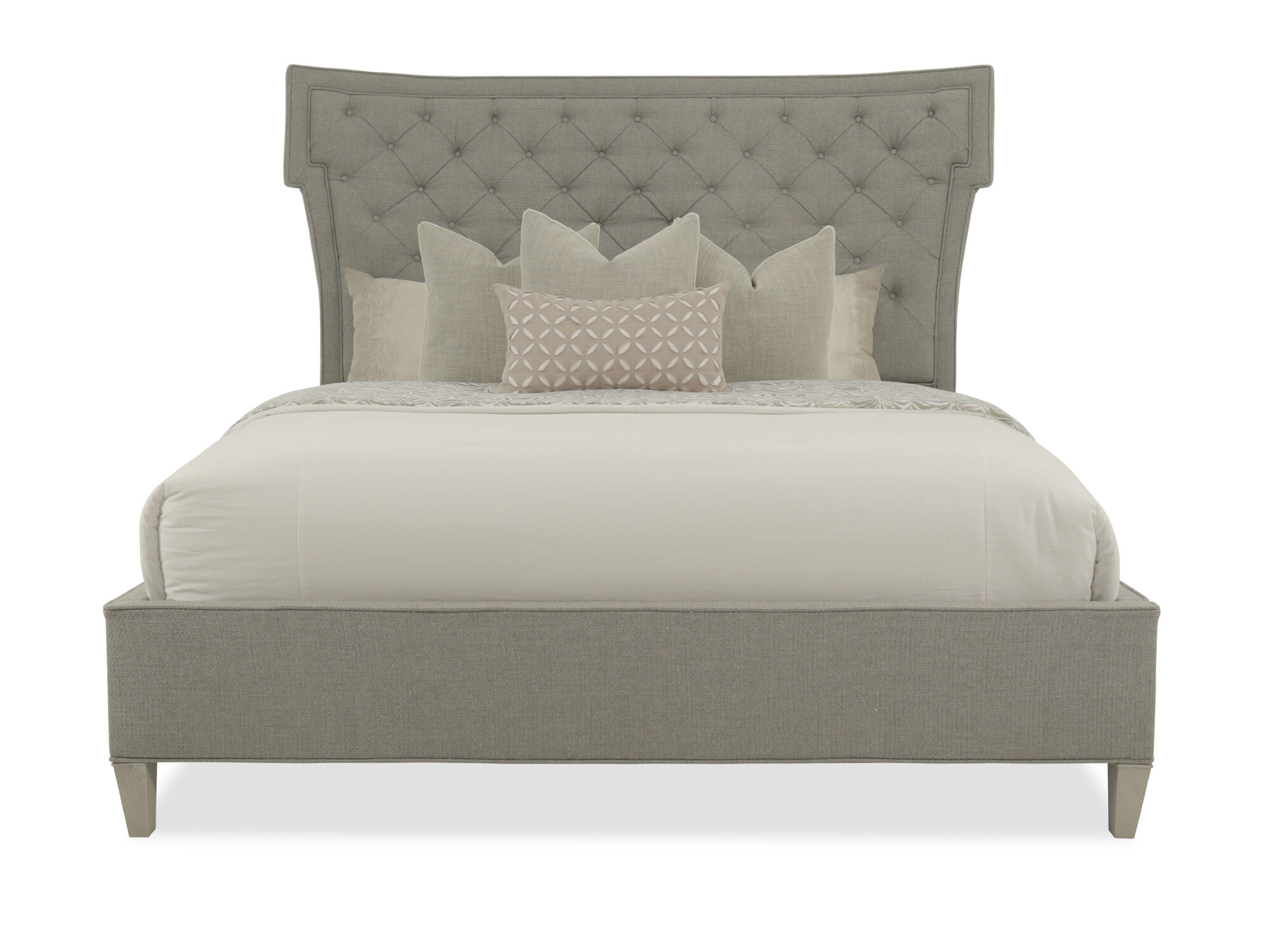 Bernhardt Domaine Blanc King Upholstered Bed ...