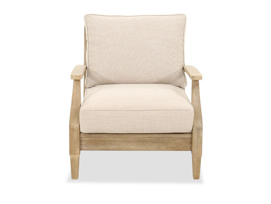 Contemporary Lounge Chair in Beige