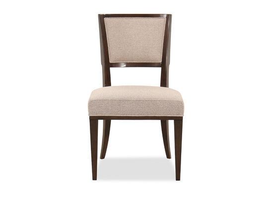 Contemporary 37'' Side Chair in Bourbon Glaze