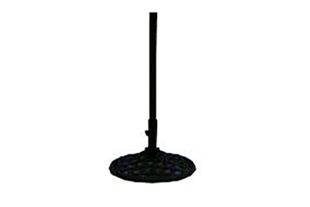 Lattice Base Select Umbrella Standin Black