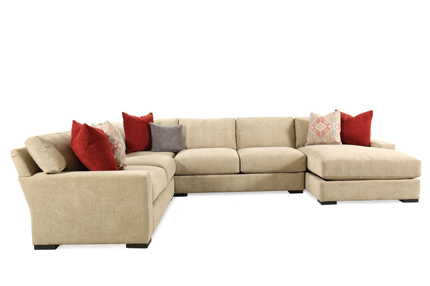 Jonathan Louis Martell Four Piece Sectional Mathis