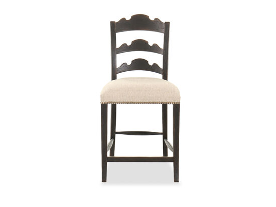 """42"""" Traditional Counter Stool in Dark Brown"""