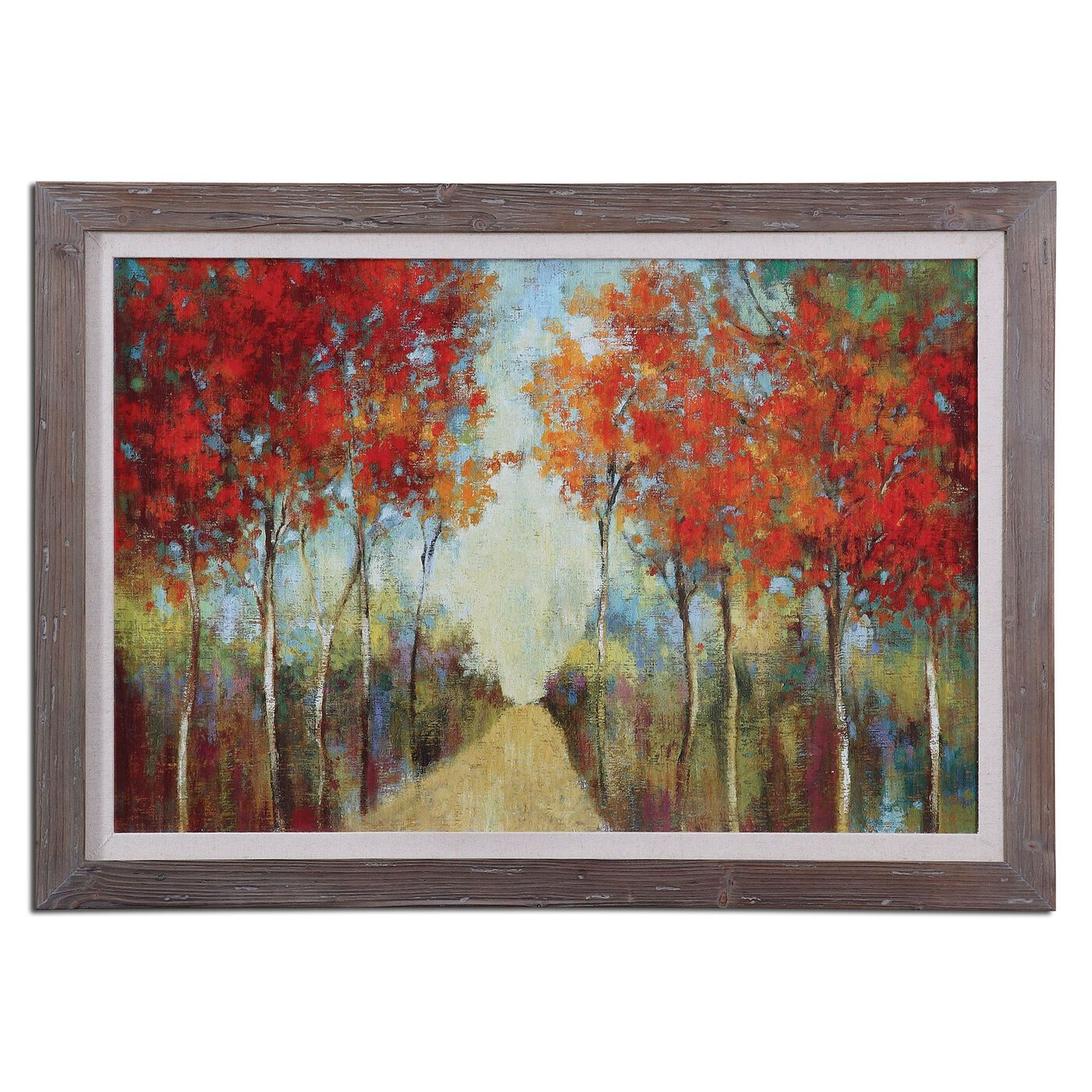 Trees Printed Framed Landscape Wall Art Mathis Brothers
