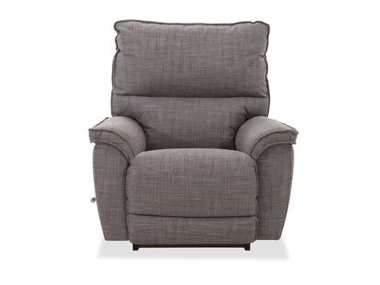 Contemporary Rocker Recliner in Gray