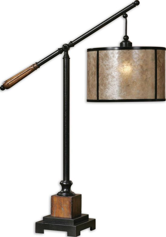 Lantern Table Lamp in Black