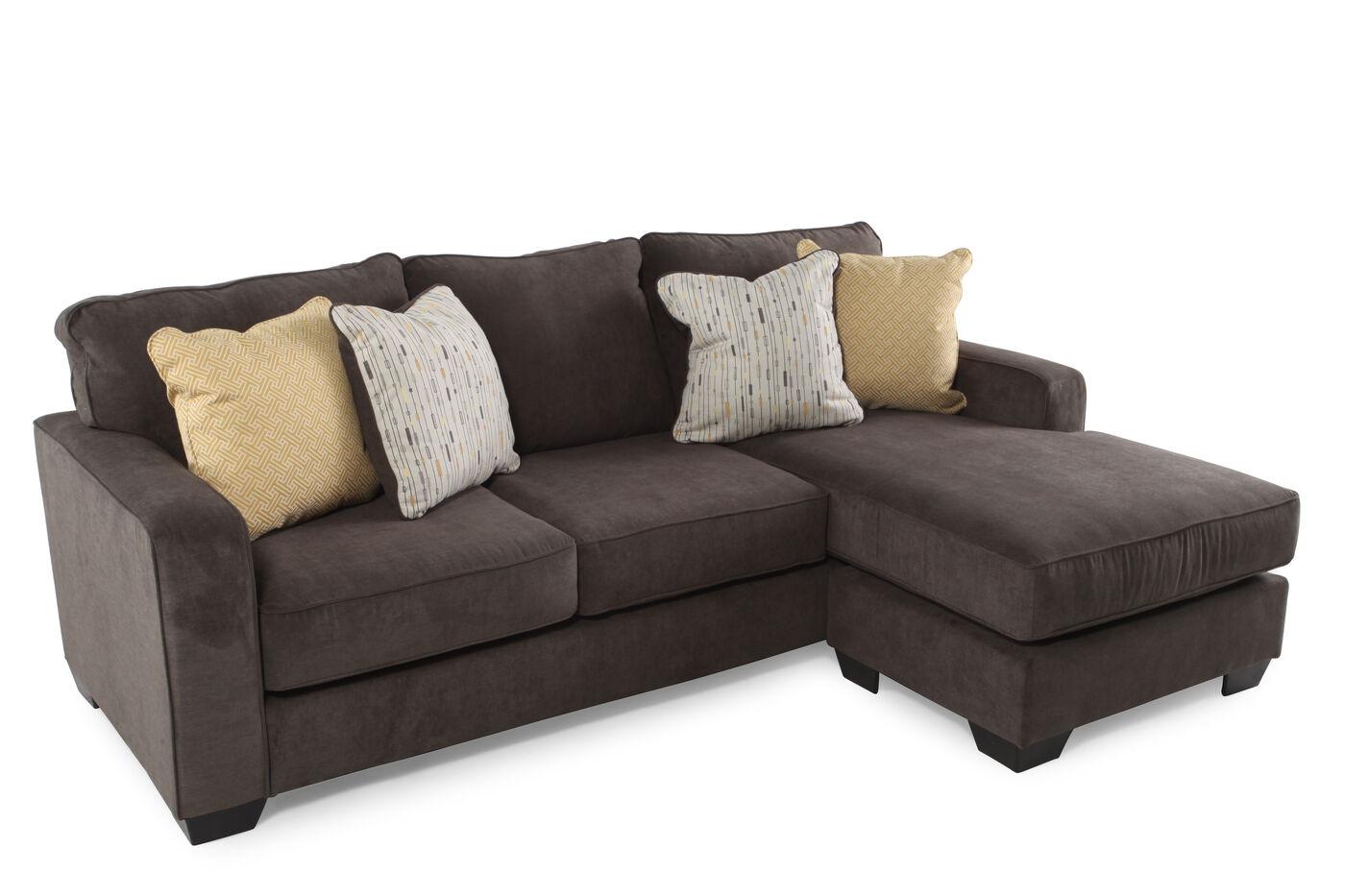 Hodan sofa chaise hodan marble sofa chaise signature for Ashley hodan sofa chaise