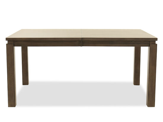 """Rectangular 82"""" Dining Table in Gray"""