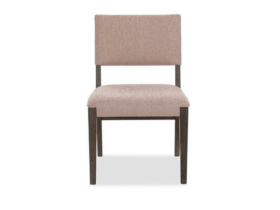 Transitional Side Chair in Brown