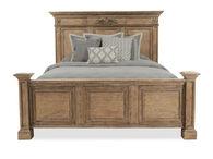 Aspen Belle Maison Aged Oak Queen Panel Bed