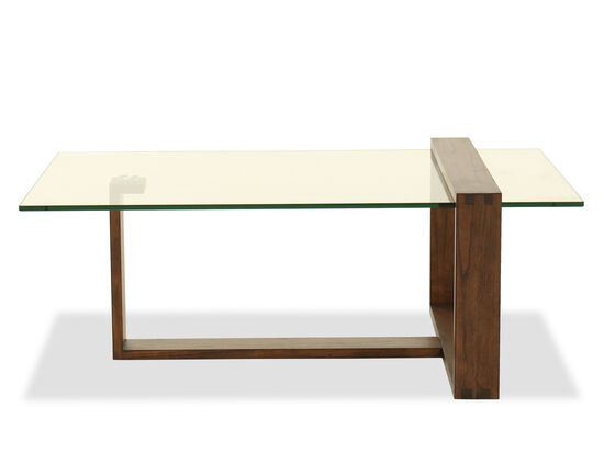 Rectangular Cocktail Table in Acorn