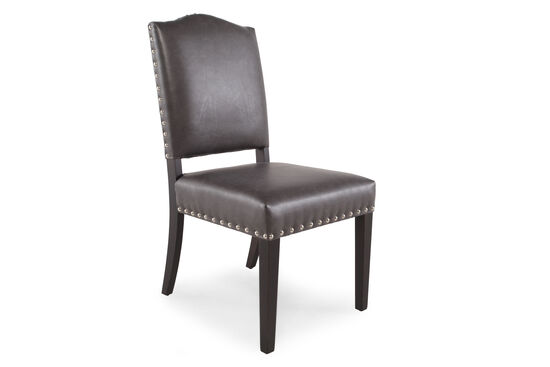 Arched Back 39'' Dining Chair in Dove Gray