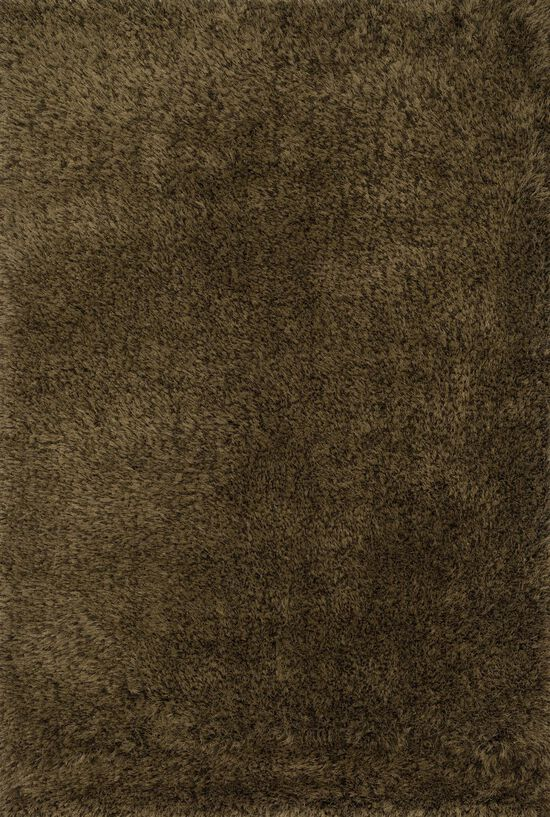 "Shags 7'-9""x9'-9"" Rug in Bronze"