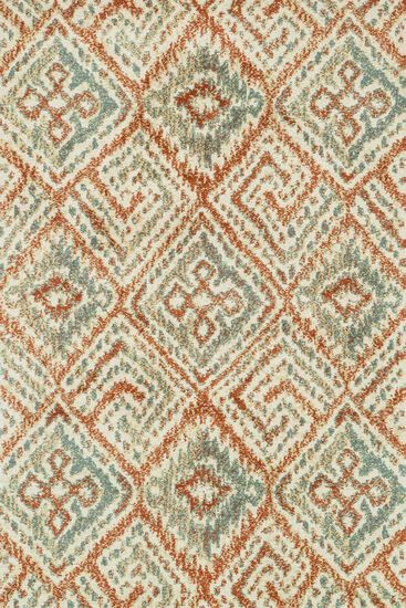 "Transitional 3'-6""x5'-6"" Rug in Spice/Mist"