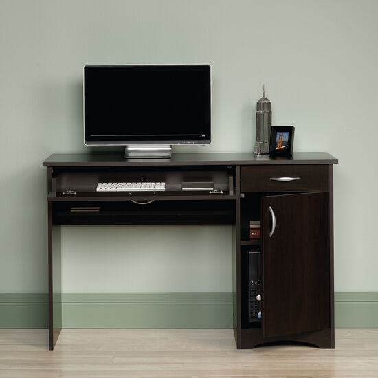 """47"""" Casual One-Drawer Computer Desk in Cinnamon Cherry"""