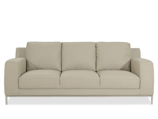 """Casual 85"""" Sofa in Beige"""