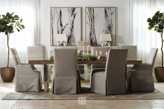 Kitchen Dining Room Tables Mathis Brothers Furniture - Glass dining room table with extension