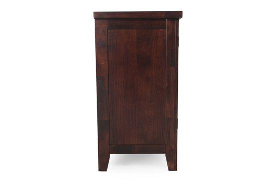 "Casual 66"" Three Drawer Sideboard in Dark Brown"