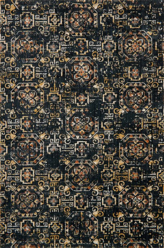 """Transitional 2'-7""""x4' Rug in Midnight"""