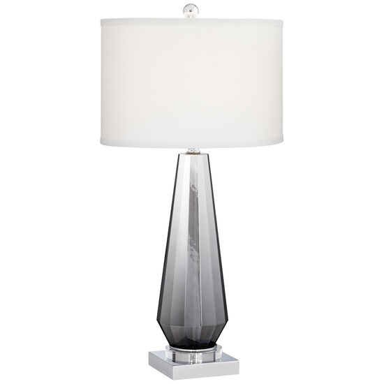 Charcoal Topaz Table Lamp