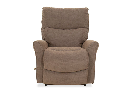 """Contemporary 34"""" Rocking Recliner in Sable"""