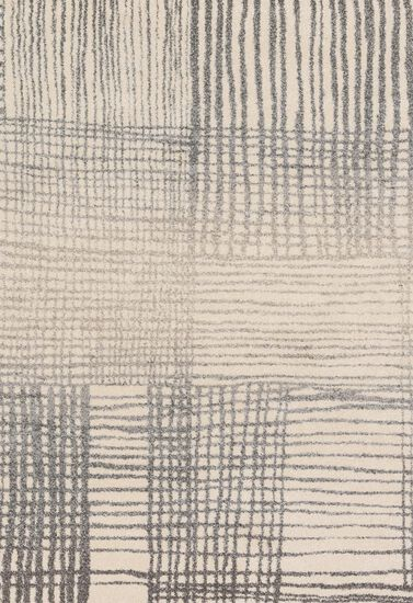 """Transitional 9'-2""""x12'-7"""" Rug in Ivory/Grey"""