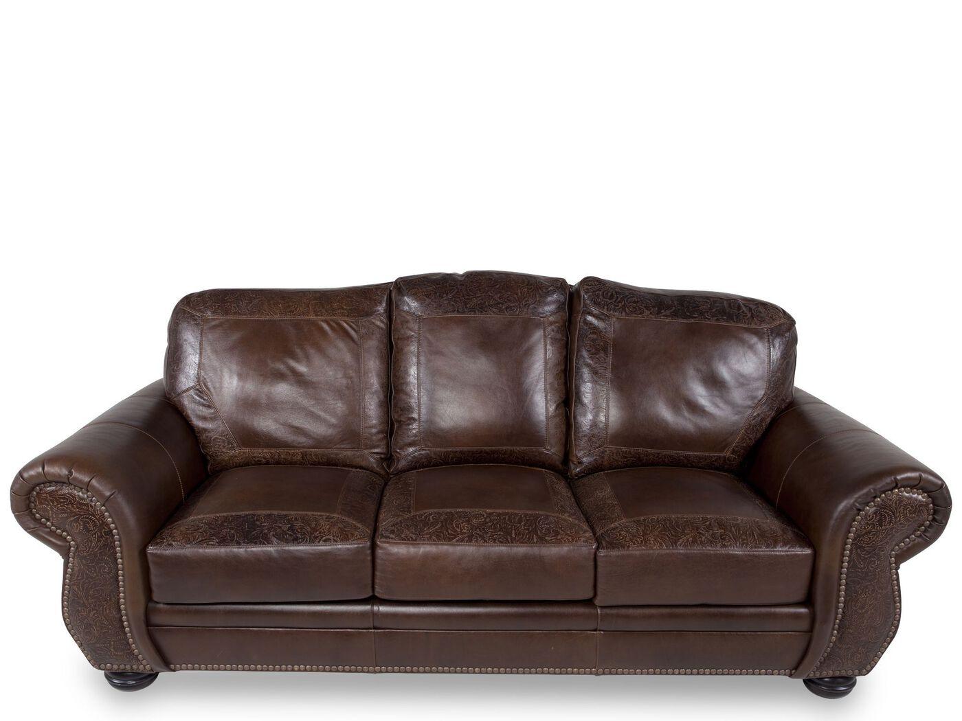 paisley furniture. Images Paisley-Printed Leather 94\u0026quot; Sofa In Dark Burgundy Paisley Furniture