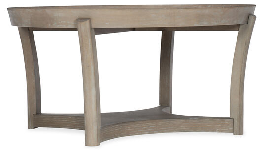 Affinity Round Cocktail Table in Grey