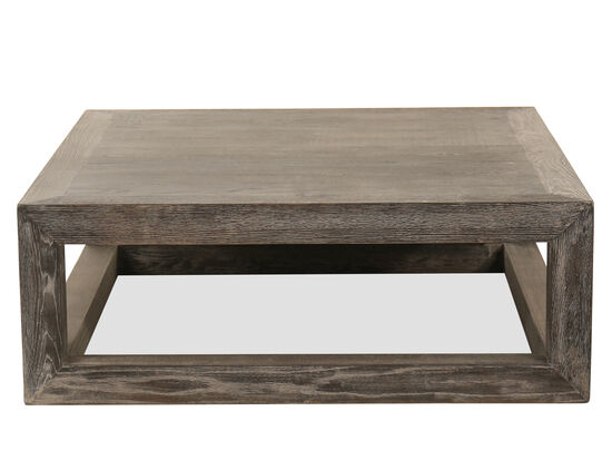 Rectangular Cocktail Table in Gray