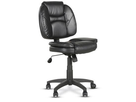 Casters Tilt Lock Task Chair in Black