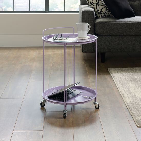 "Traditional 18"" Accent Cart in Lavender"