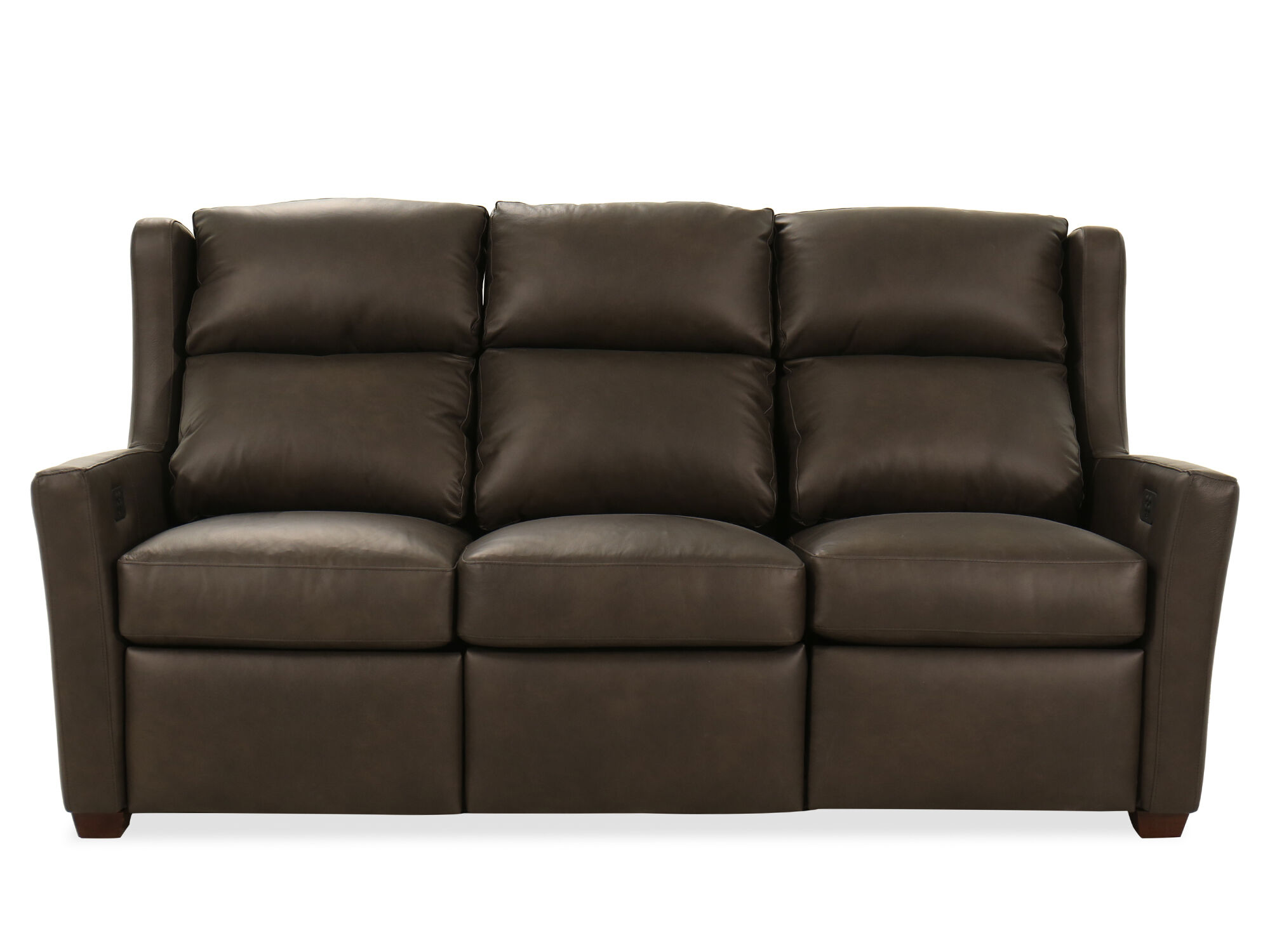 Reclining Leather 77 39 Motion Sofa