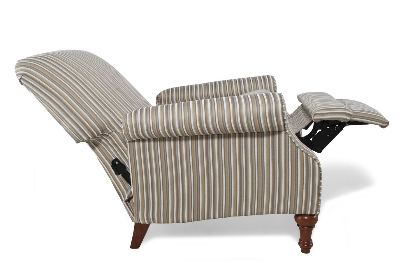 "Striped Wall Saver Traditional 33"" Recliner"