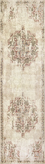 Transitional Power-Loomed 3 x 5 Rectangle Rug in Beige