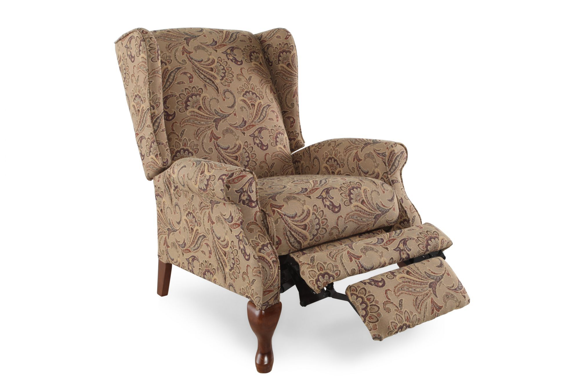 Incroyable Contemporary Floral Printed 29.5u0026quot; Recliner