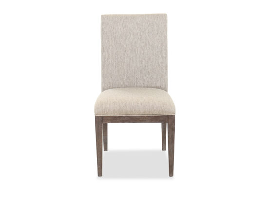 "39"" Contemporary Side Chair in Gray"