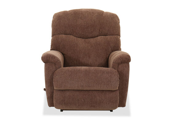 "37"" Casual Rocker Recliner in Mocha"