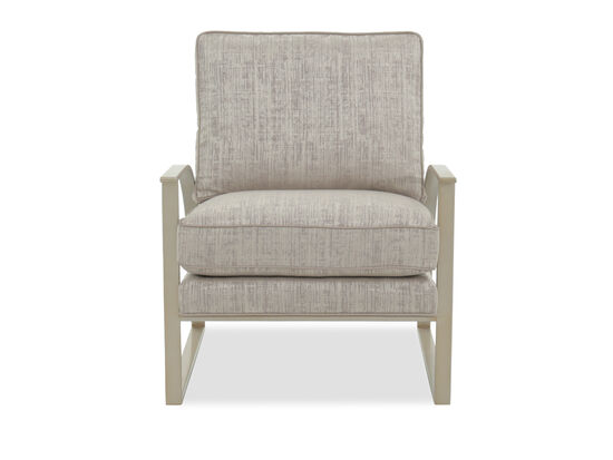 """Modern 26"""" Accent Chair in Gray"""