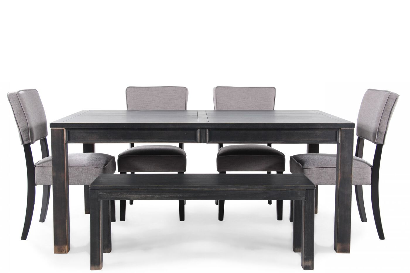 Ashley Gavelston Six Piece Dining Set By