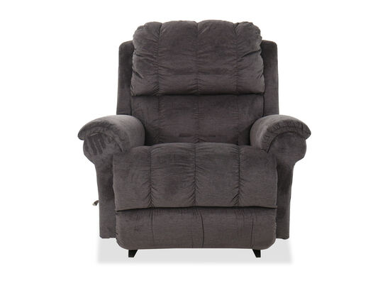 "Casual 45"" Rocking Recliner in Gray"