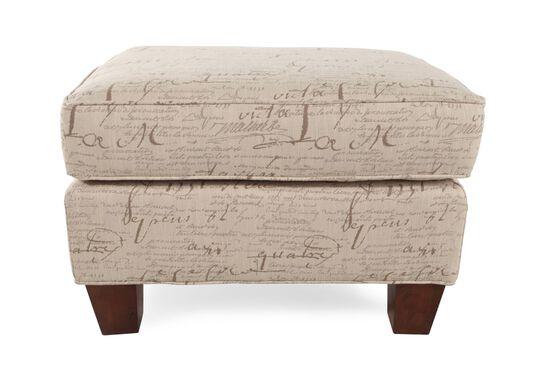 "Transitional 27.5"" Signature Ottoman"