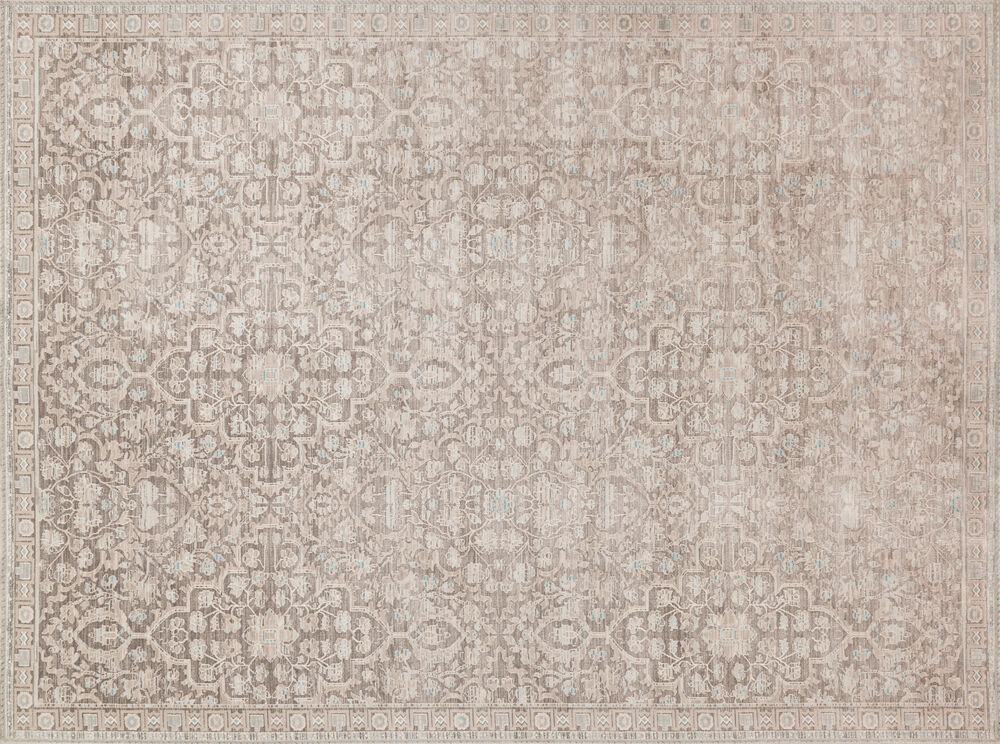 Magnolia Home Ella Rose Power Loomed Rug in Pewter