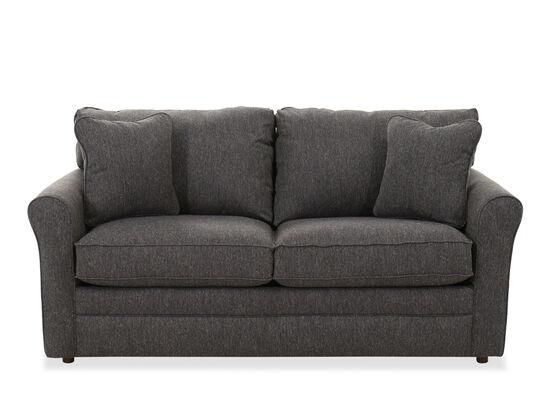 """Casual 73.5"""" Full Sleeper Sofa in Charcoal"""