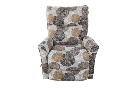 "Casual Floral-Patterned 34"" Rocker Recliner"