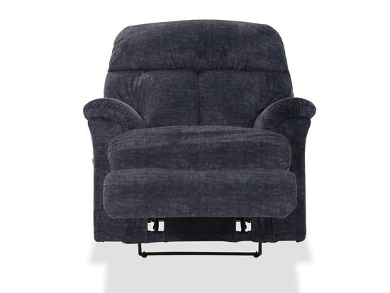 """36"""" Casual Wall Saver Recliner in Navy"""