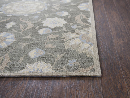 Transitional Hand-Tufted 8 x 10 Rectangle Rug in Coco
