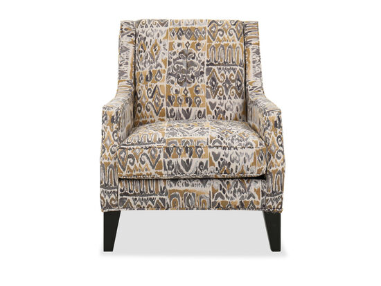 """Contemporary 31"""" Patterned Chair"""