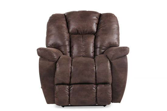 """38"""" Straight Arm Wall Recliner in Sepia"""
