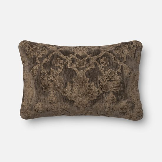 """Contemporary 1'-2""""x1'-10"""" Cover w/down pillow in Storm"""
